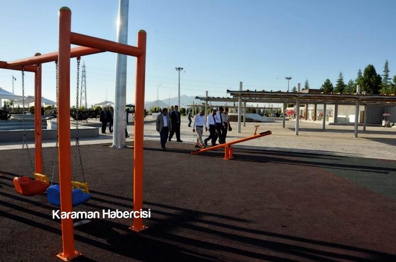 Vali Tapsız Necmettin Erbakan Parkında İncelemelerde Bulundu 1