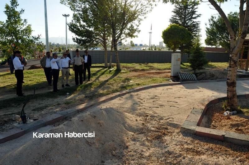 Vali Tapsız Necmettin Erbakan Parkında İncelemelerde Bulundu 2