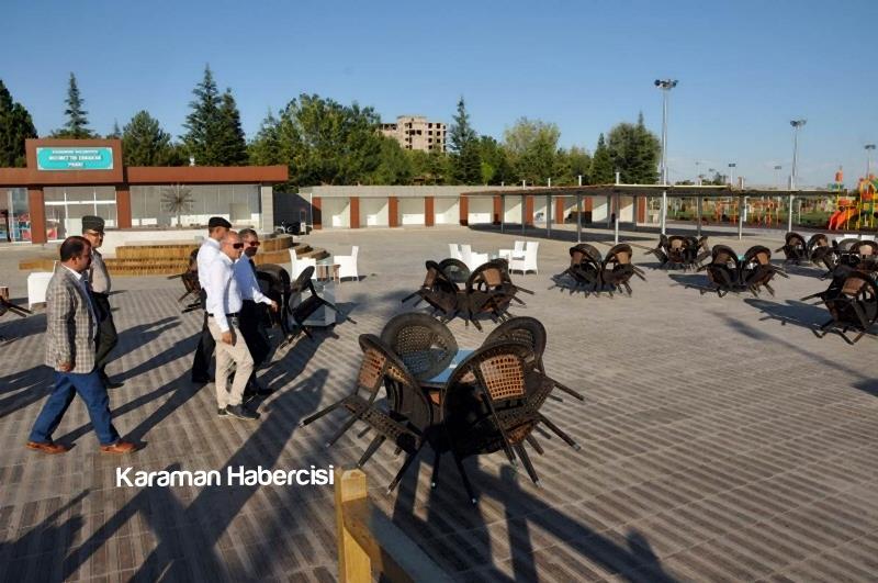 Vali Tapsız Necmettin Erbakan Parkında İncelemelerde Bulundu 3