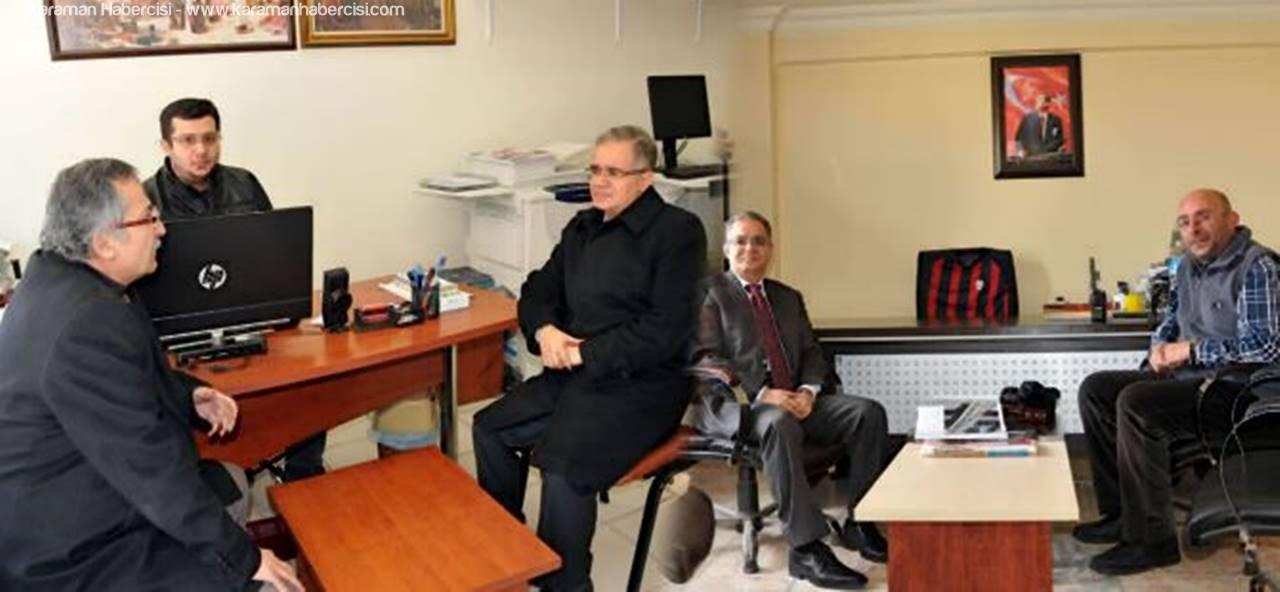 Vali Süleyman Tapsız'dan Basına Yakın İlgi