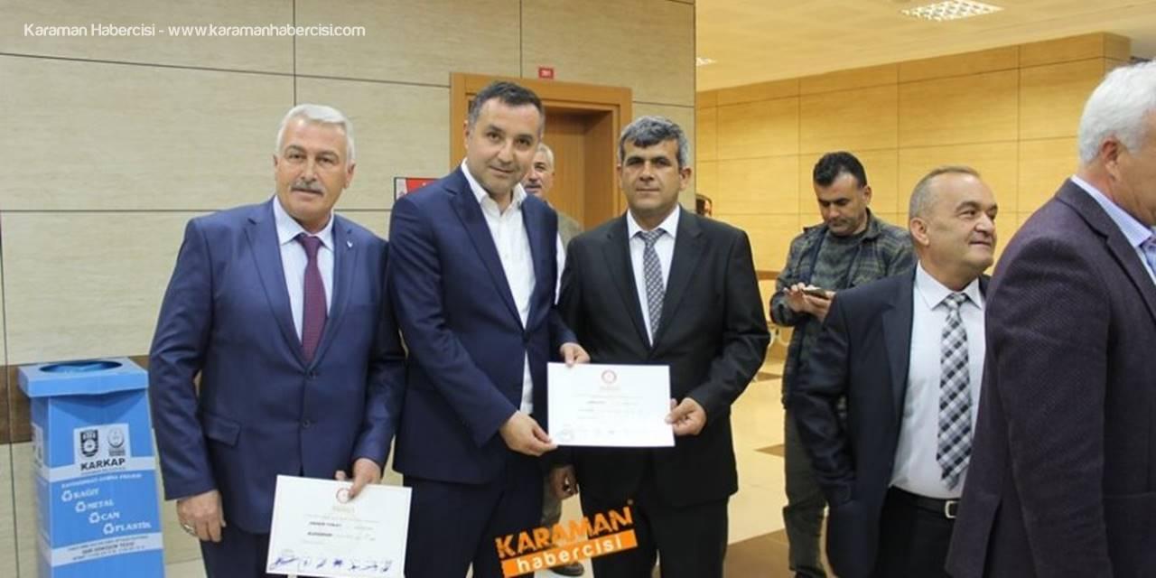 MHP Karaman Merkez İlçe Başkanı Mahmut Ünüvar'dan Tebrik Mesajı