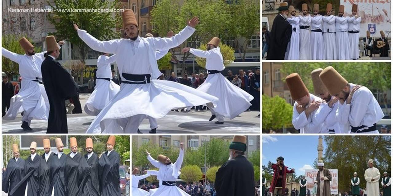 Karaman'da Temsili Uğurlama Töreni