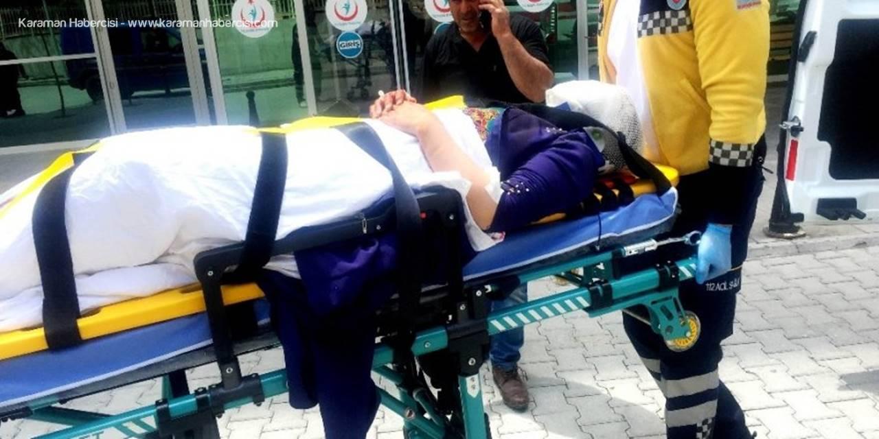 Konya'da Afganların İçinde Bulunduğu Otomobil Takla Attı: 5 Yaralı
