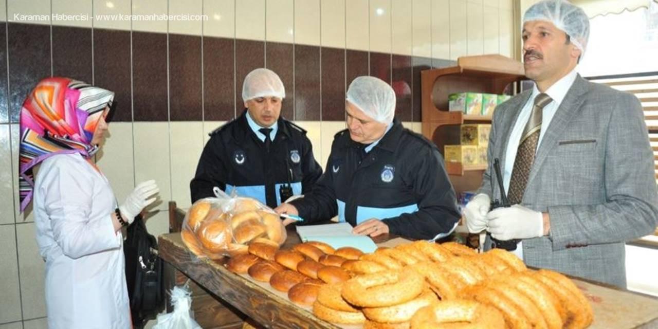 Ramazan Öncesi Karaman'da Fırınlara Denetim