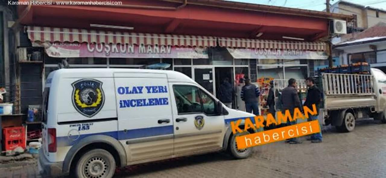 Karaman'da Esnafa Hırsızlık Şoku