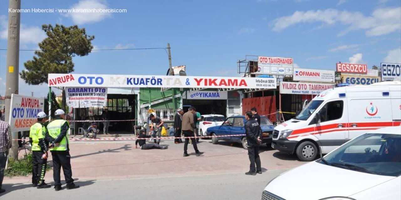 Konya'da Esnaf Kavgası Kanlı Bitti