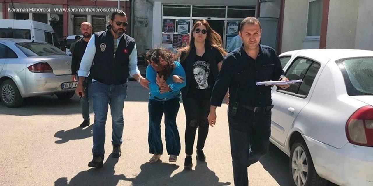 Mersin'de Yaşlı Adamları Dolandıran Kadın Tutuklandı