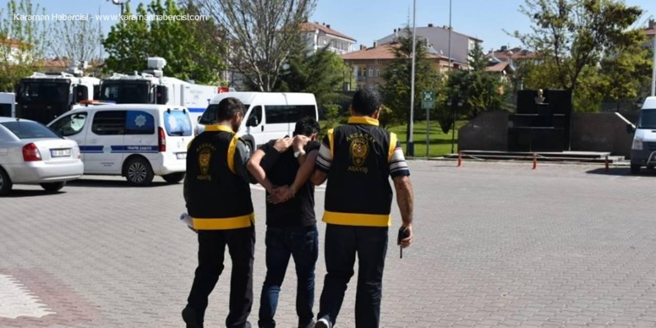 Aksaray'da 7 Ayrı Suçtan Aranan Zanlı Operasyonla Yakalandı