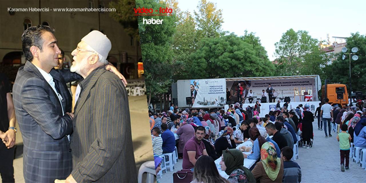 Ramazan İftarında Yenimahalle Vefayı Evladından Gördü