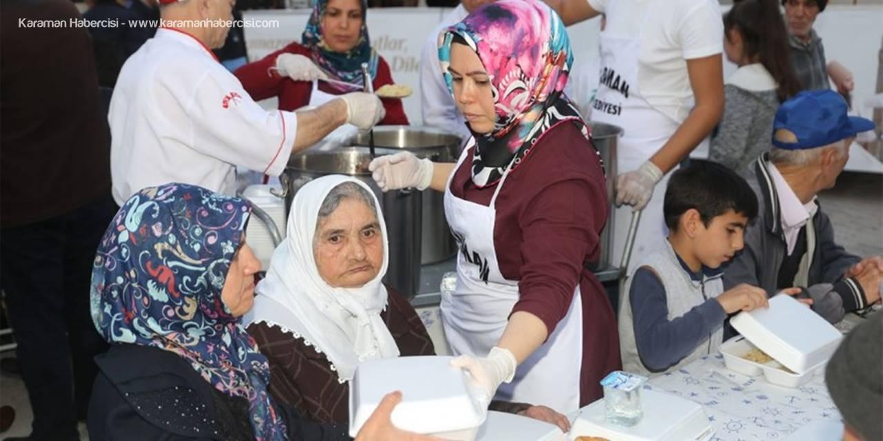 Karaman'da İftar Sofraları Bu Akşam Hamidiye Mahallesi'nde