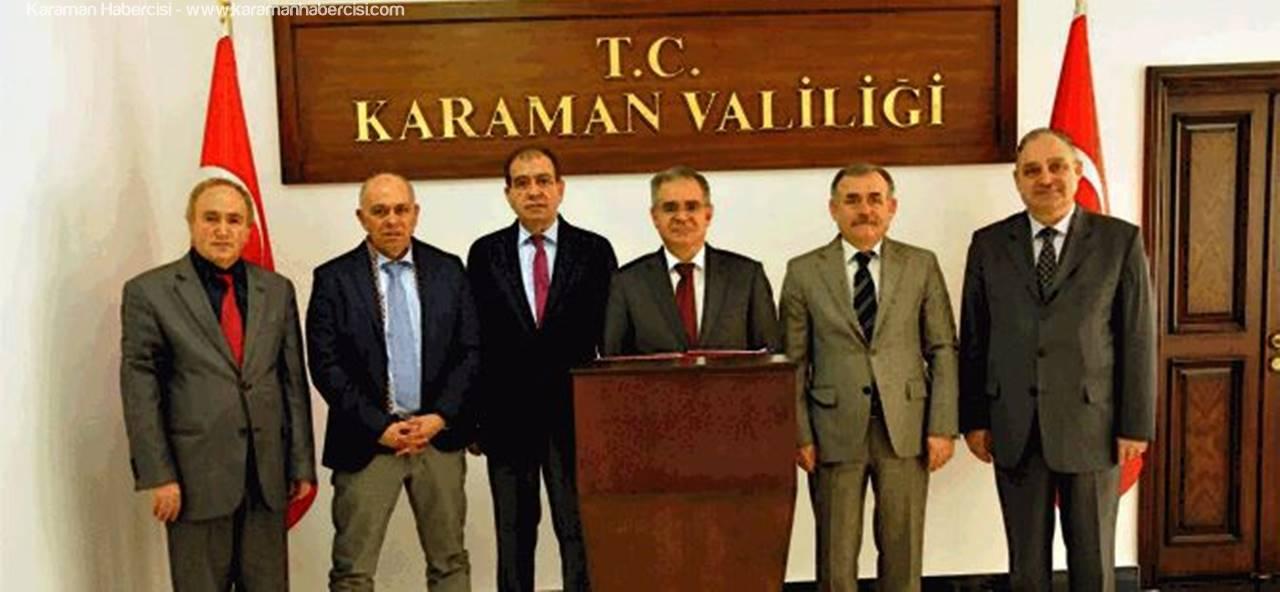Karaman'da Teknopark Kurulmasına Yönelik Çalışmaları Hız Kazandı