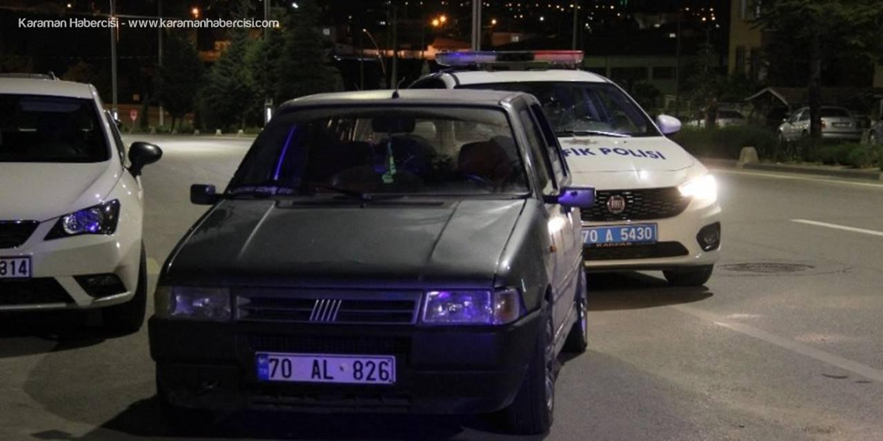 Karaman'da Kaputta Yolculuk Yapan Kişi Canından Olacaktı