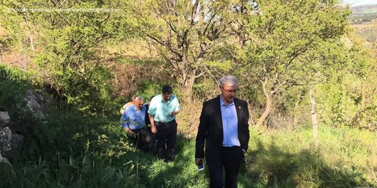 Karaman İl Genel Meclisi Başkanı Adem Kapar'dan Köylere Ziyaret
