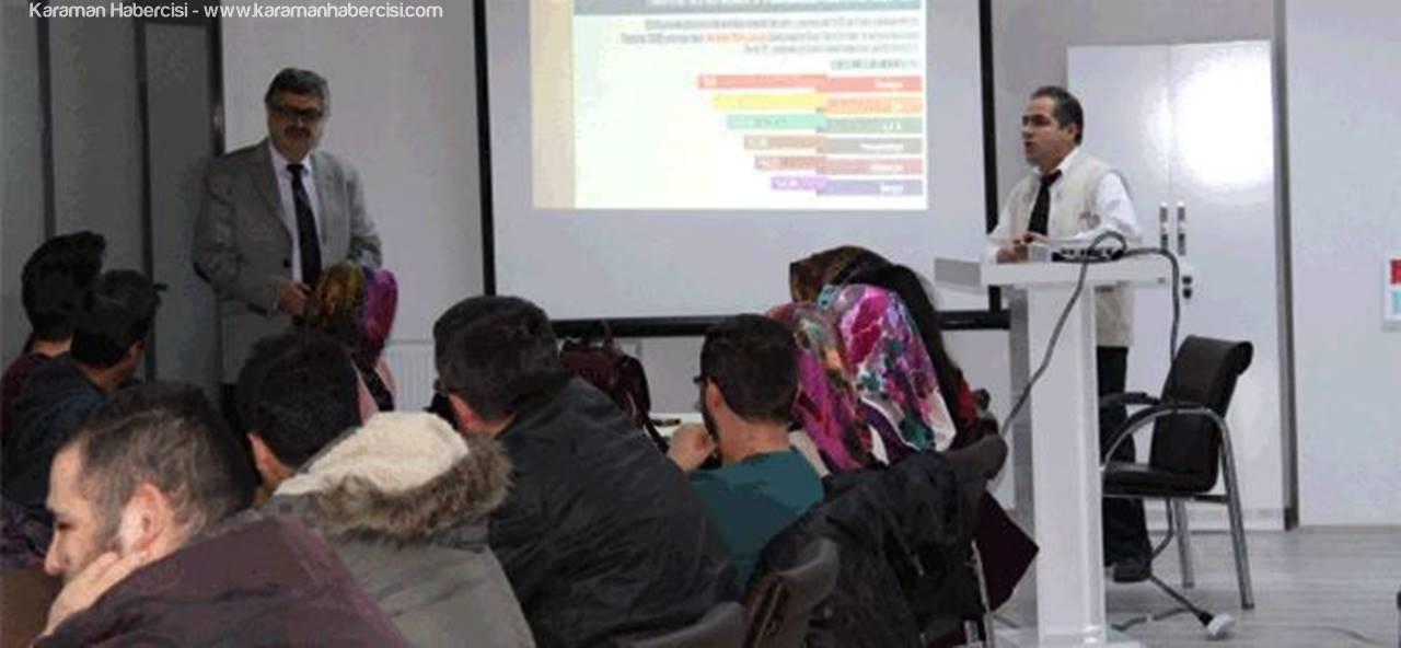 Karaman'da Girişimcilik Kursu Devam Ediyor