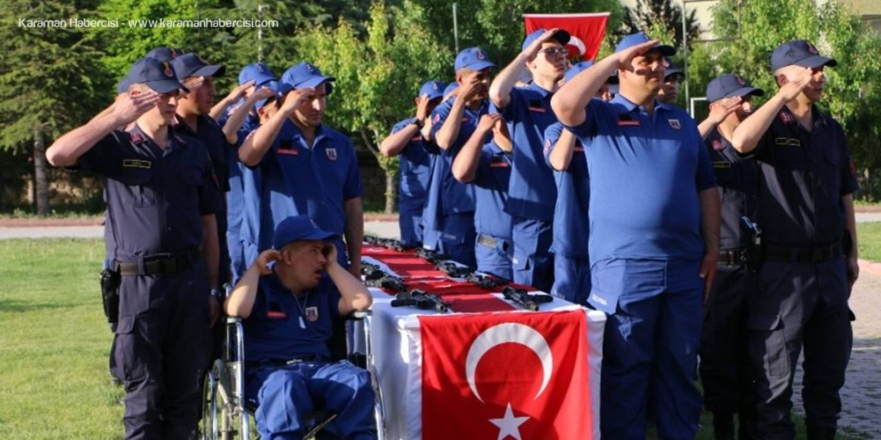 Konya'da Engelli Bireylerin Askerlik Heyecanı