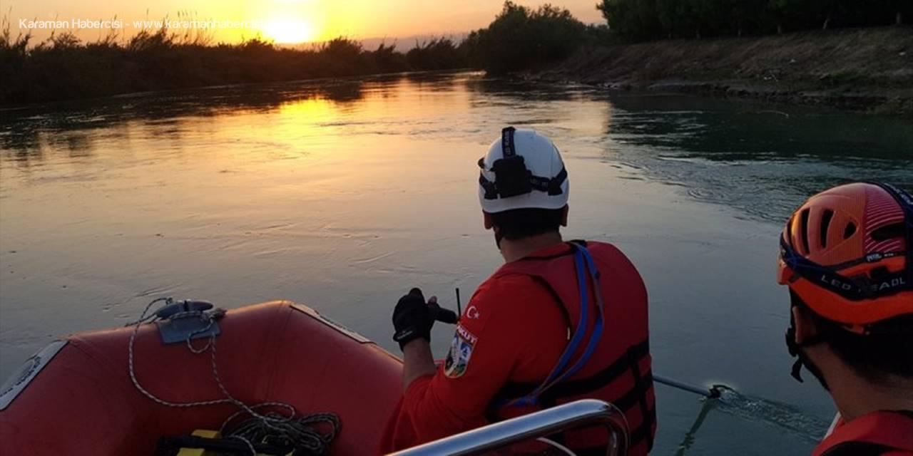 Mersin'de Nehirde Kaybolan Çocuk Aranıyor