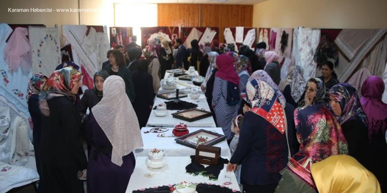 Karamanlı Hanımlar El Sanatları Sergisi Açıyor