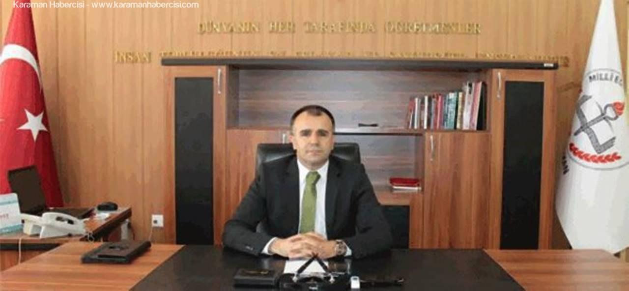 İl Milli Eğitim Müdürü Asım Sultanoğlu'ndan Veda Mesajı
