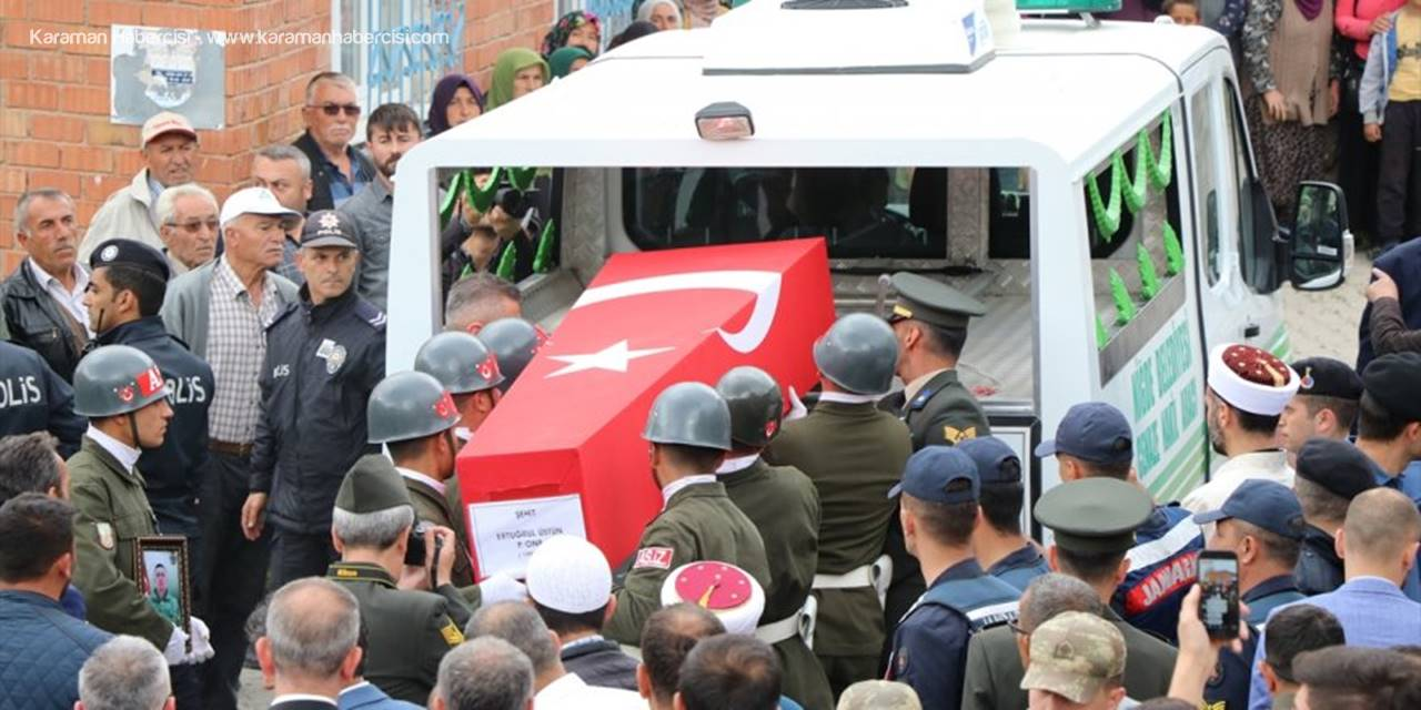 Hatay'da Şehit Olan Askerin Cenazesi Niğde'de Toprağa Verildi
