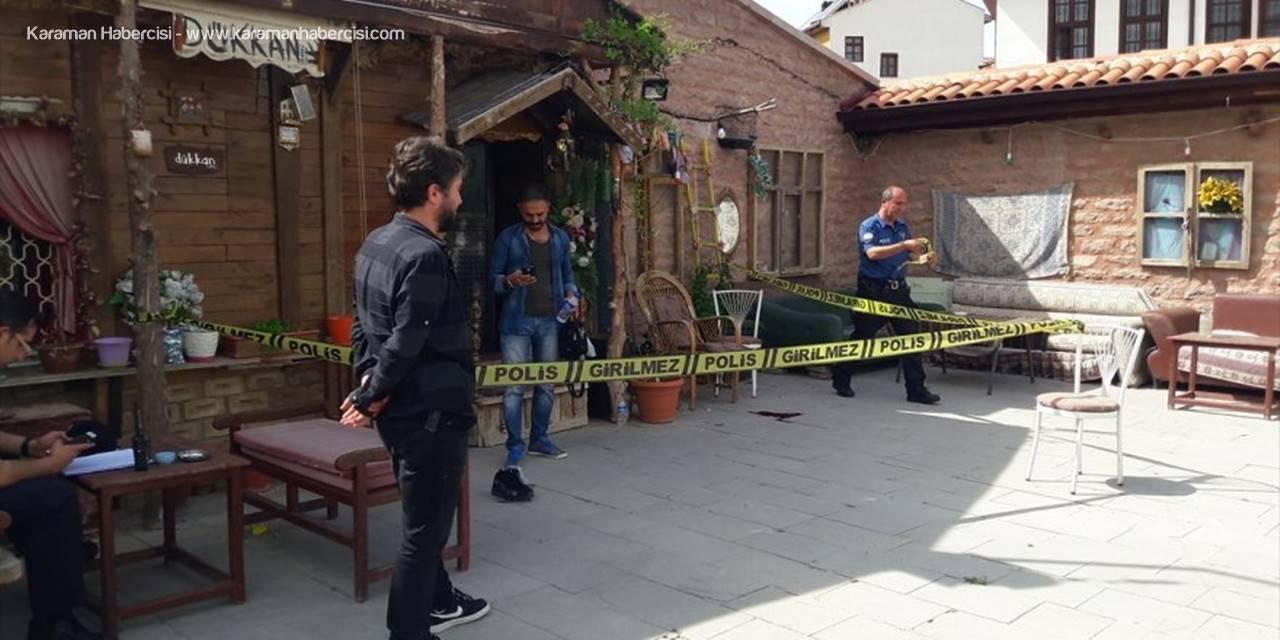 Konya'da Kafeye Av Tüfeğiyle Ateş Açıldı
