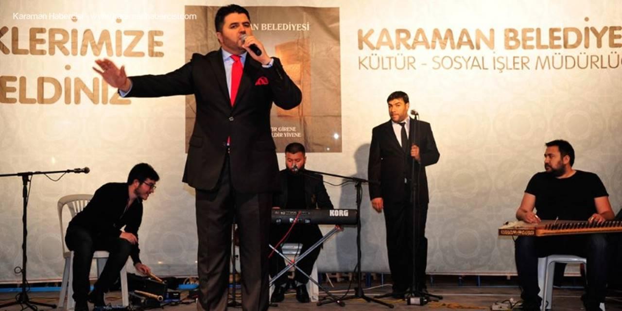 Hasan Dursun Bu Akşam Karaman'da Sahne Alacak