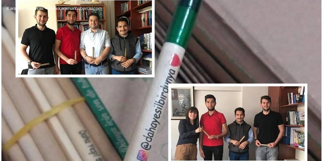 KMÜ Öğrencileri Yeni Bir Projeye İmza Attı