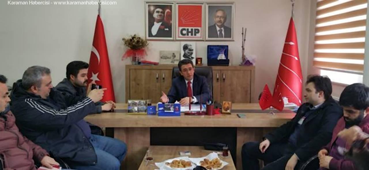 CHP Karaman İl Başkanı İsmail Atakan Ünver Hayırın Nedenlerini Sıraladı