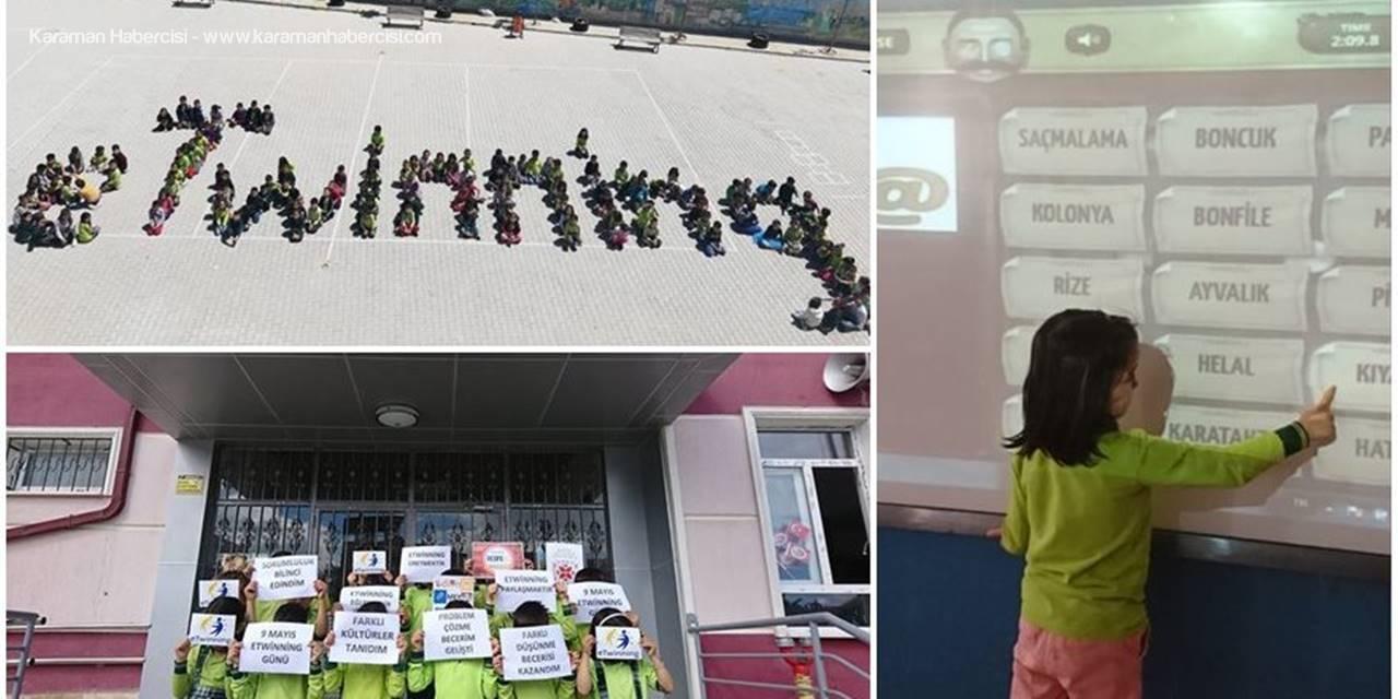 Karaman'da Öğrenciler Resfebeyle Hem Eğlenip Hem Öğreniyorlar