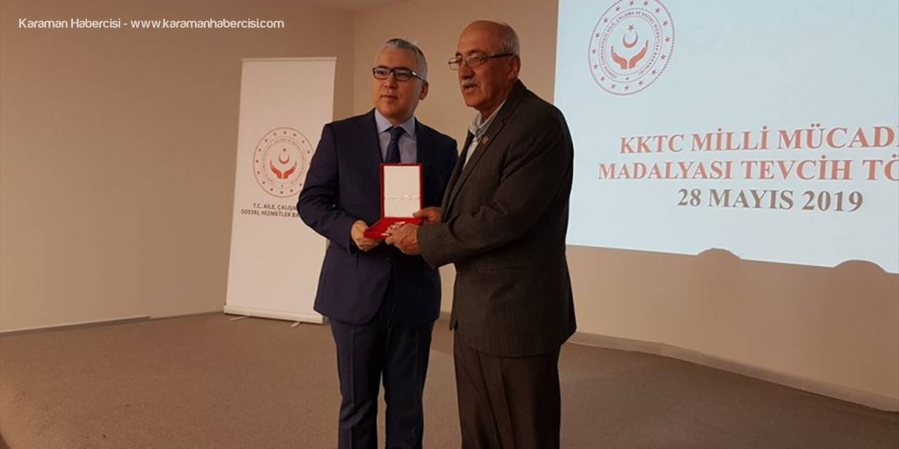 Niğde'de Kıbrıs Gazilerine Madalya ve Berat Tevcih Töreni