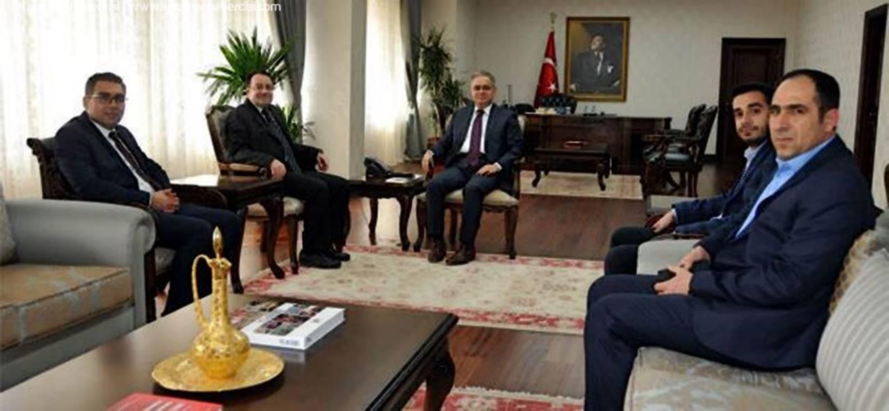 MÜSİAD Yönetiminden Vali Tapsız'a Ziyaret