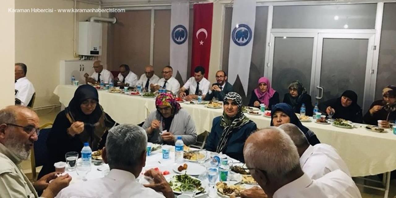 Karaman'da Şehit ve Gazi Ailelerine Anlamlı İftar Programı