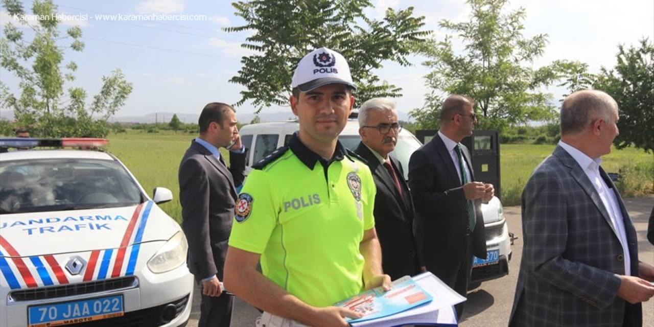 Karaman'da Ramazan Bayramı Öncesi Trafik Denetimi