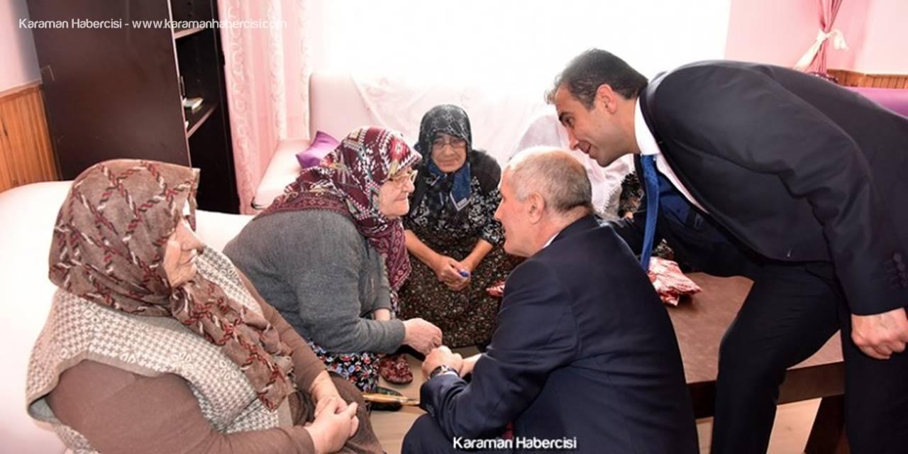 Karaman'da Bu Bayramda da Devletin Şefkati Onlarla Oldu
