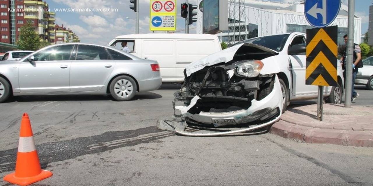 Konya'da Trafik Kazasında Genç Kız Hayatını Kaybetti
