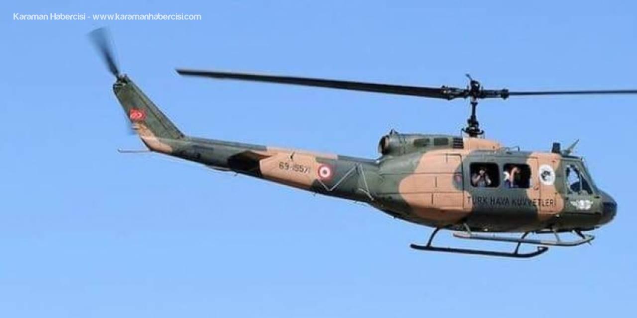 Kurtarma Timinde Helikopterden Düşen Asker Şehit Oldu