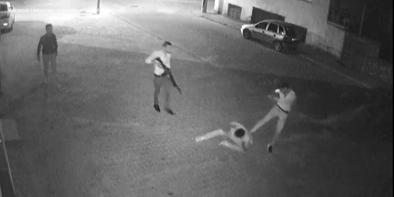 Şehir Magandaları Karaman'da Güvenlik Kamerasında Görüntülendi