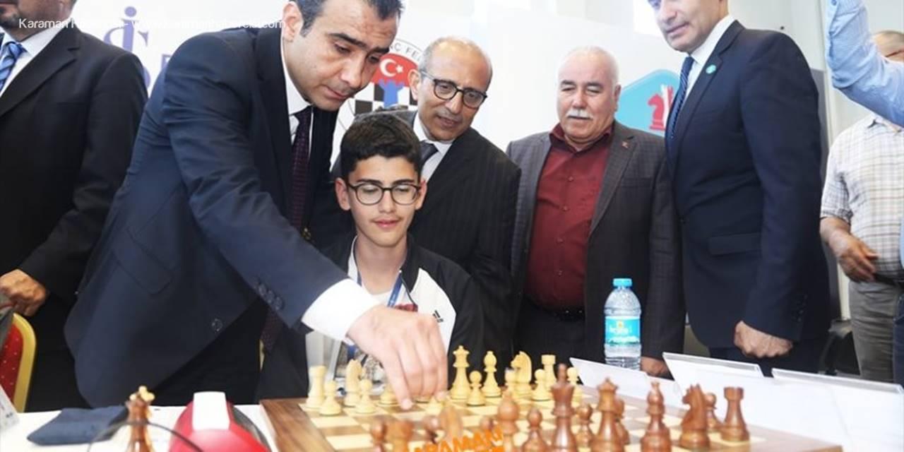 Okul Sporları Satranç Birinciliği Finalleri Karaman'da başladı