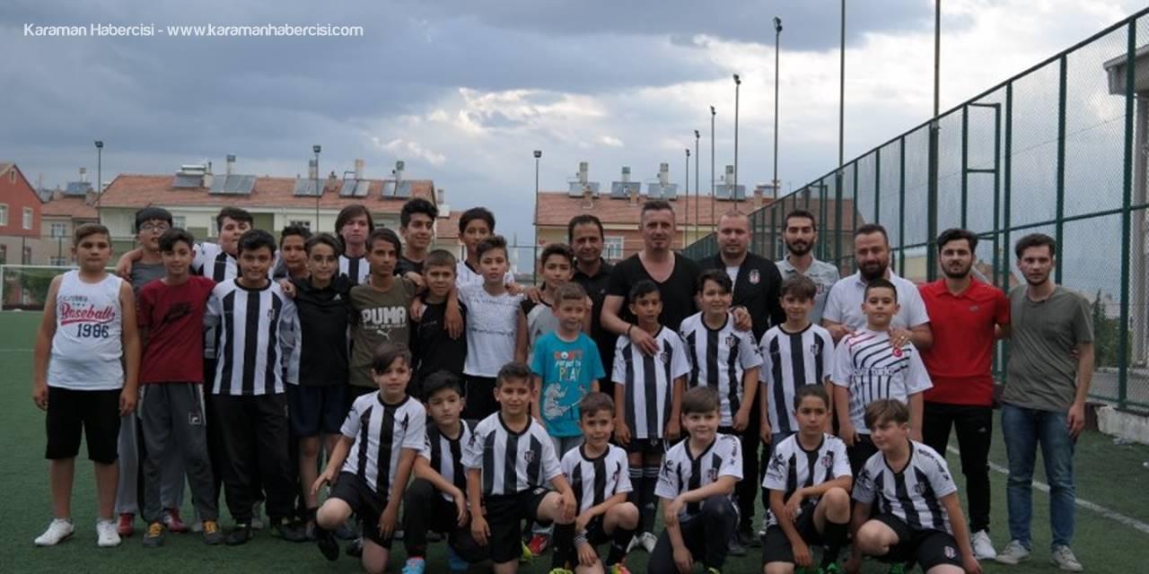 Beşiktaşlı Futbolcunun Memleketi Karaman'da