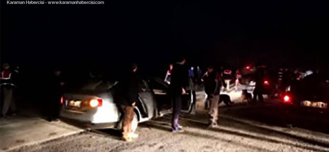 Karaman'da 'Huzur' Operasyonu