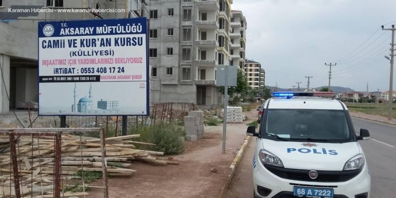 Aksaray'da Düşen İnşaat İşçisinin Durumu Kritik