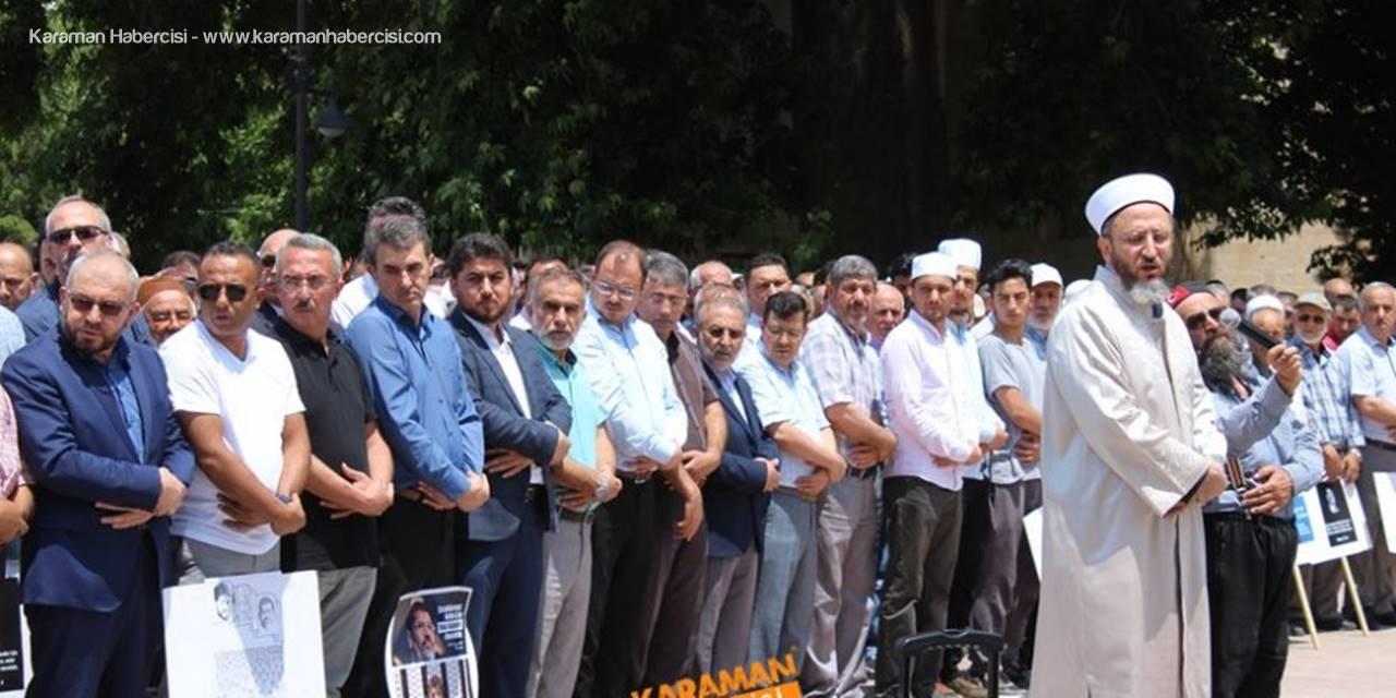 Karaman Mursi İçin Saf Tuttu