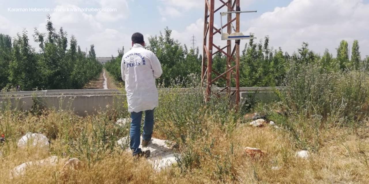 Karaman'da Direkten Düşen Görevli Yaralandı