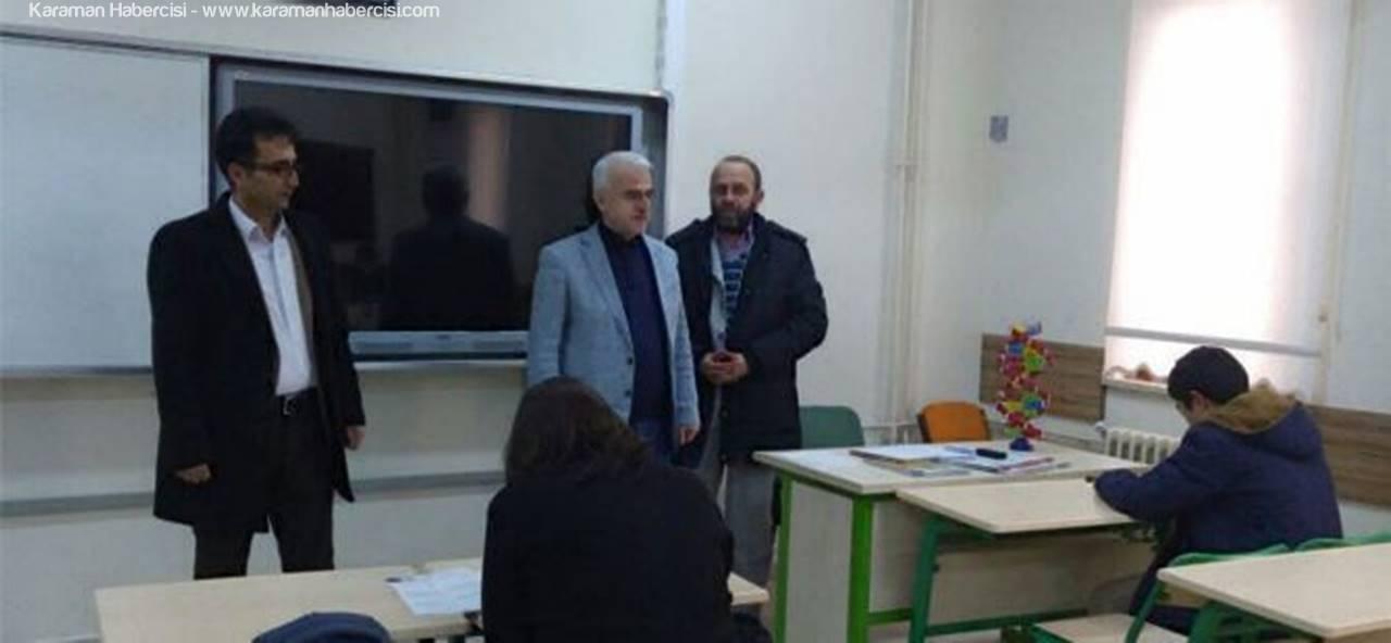 Kuntoğlu'ndan Okullara Ziyaret