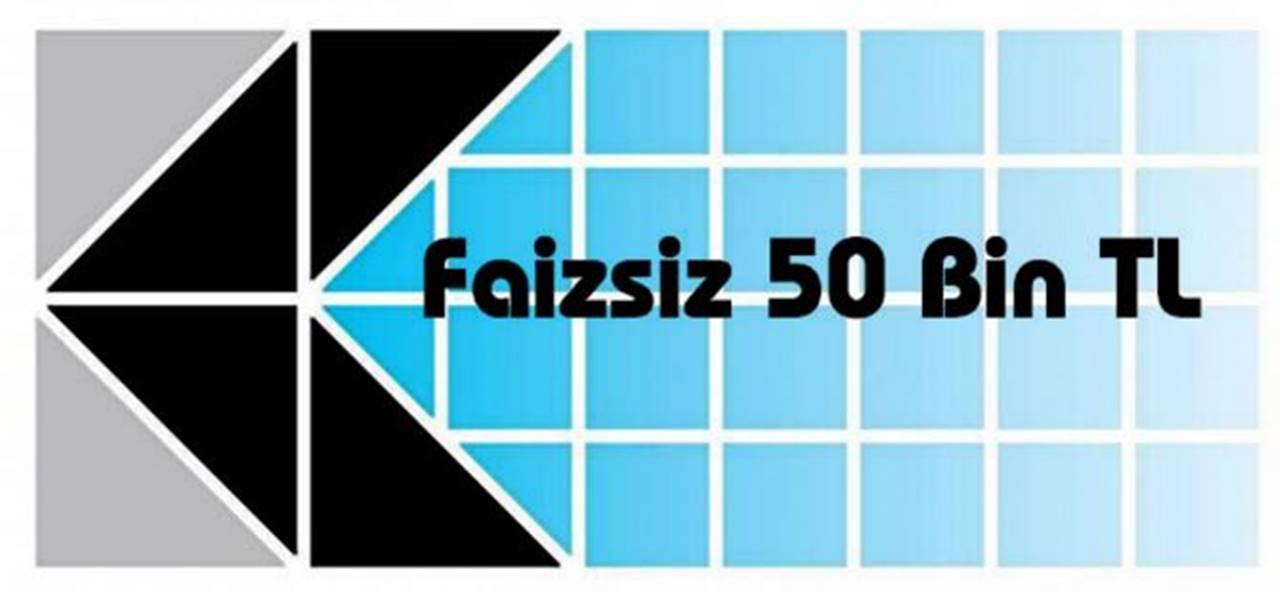 KOSGEB'den 50 Bin TL Faizsiz Kredi