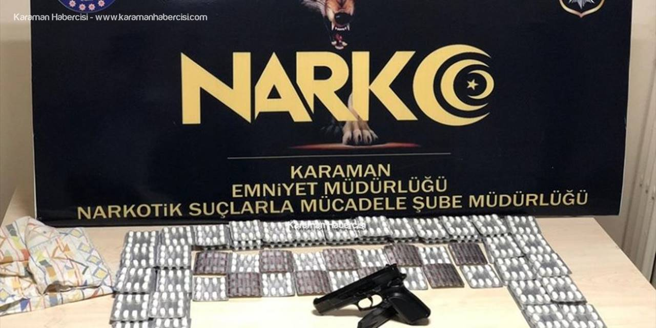 Karaman'da Hap Operasyonu