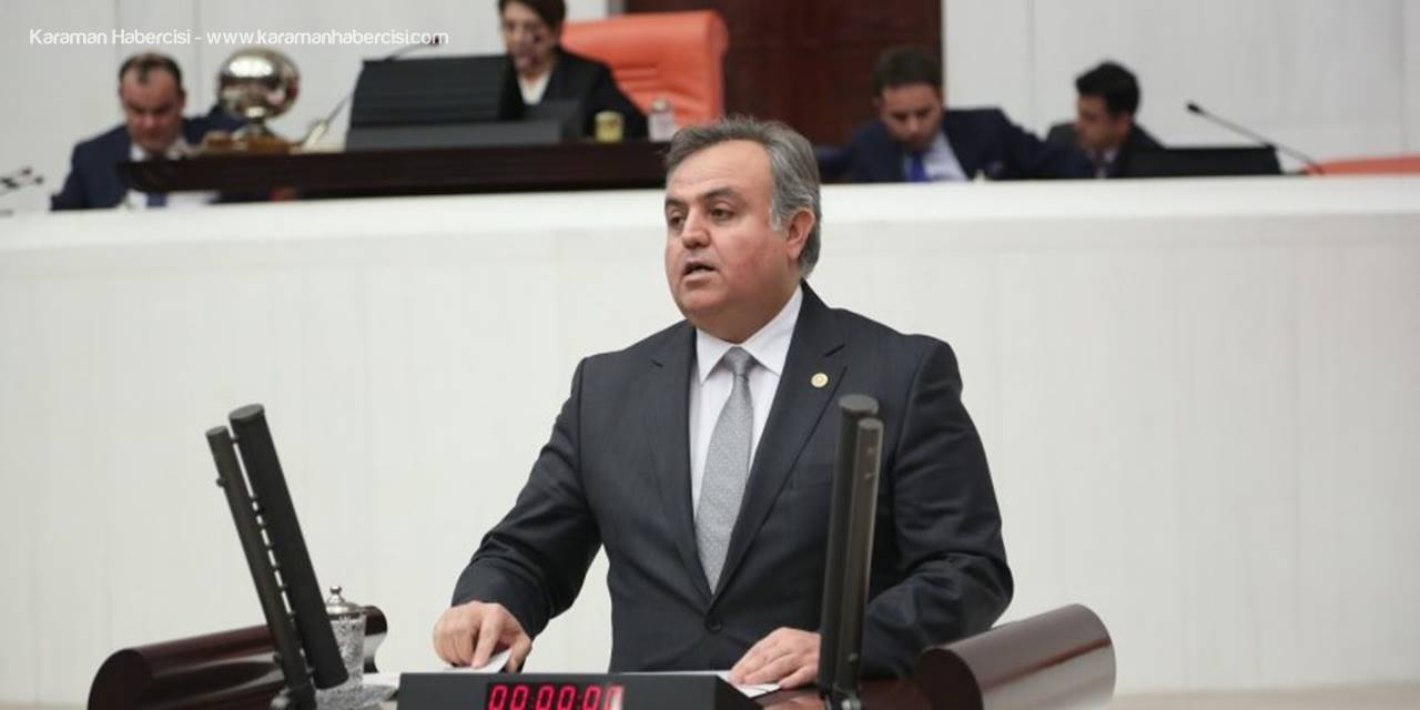 Karaman Milletvekili Şeker'den Üç Aylar Ve Regaip Kandili Mesajı