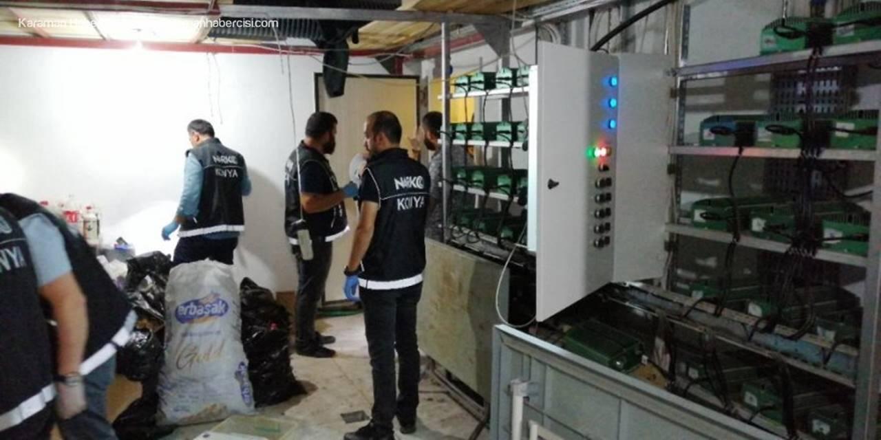 Konya'da İnşaatı Uyuşturucu İmalathanesi Yaptılar