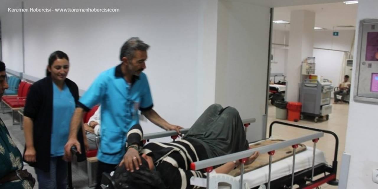 Aksaray'da Tarım İşçileri Ölümden Döndü