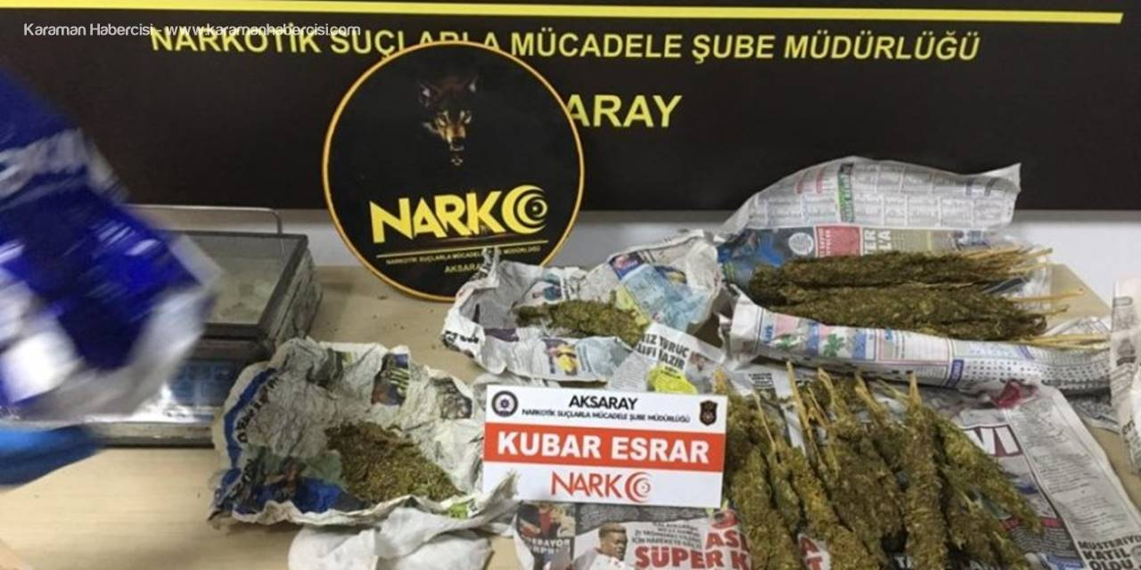 Aksaray'da Bir Darbede Uyuşturucu Tacirlerine