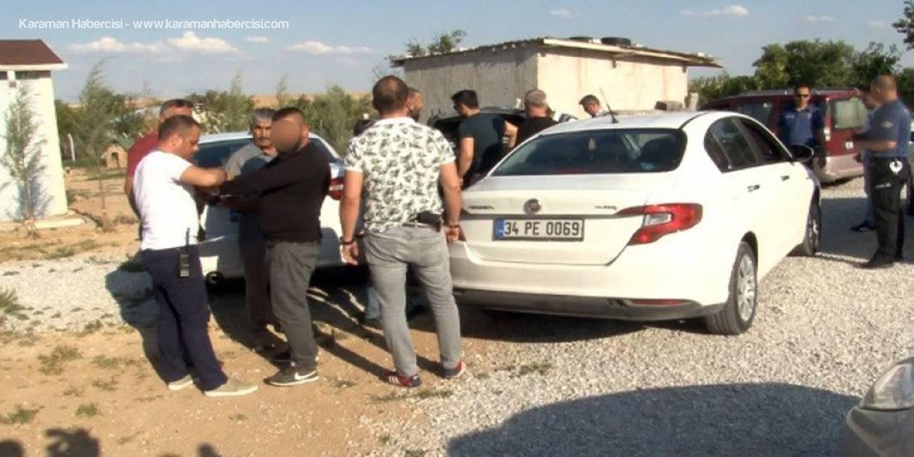 Konya'da İş Yeri Kurşunlanması Zanlıları Bağ Evinde Yakalandı